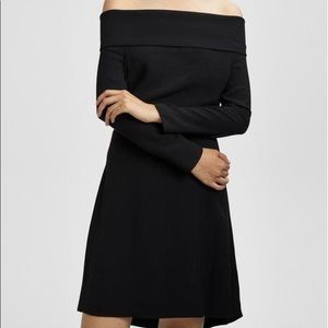 Theory Kensington crepe cocktail dress